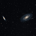 Bode's Galaxy and the Cigar Galaxy