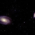 Bode's Galaxy (M81) and the Cigar Galaxy (M82)