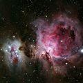 M42 - Orion Nebula & NCG 1977 - Running Man Nebula