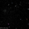 widefield image of Auriga star clusters