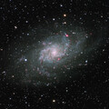 M33 - Triangulum Galaxy with a Canon lens