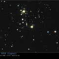 NGC 6910 is an open cluster in the constellation Cygnus