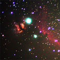 Flame and Horsehead Nebulae region