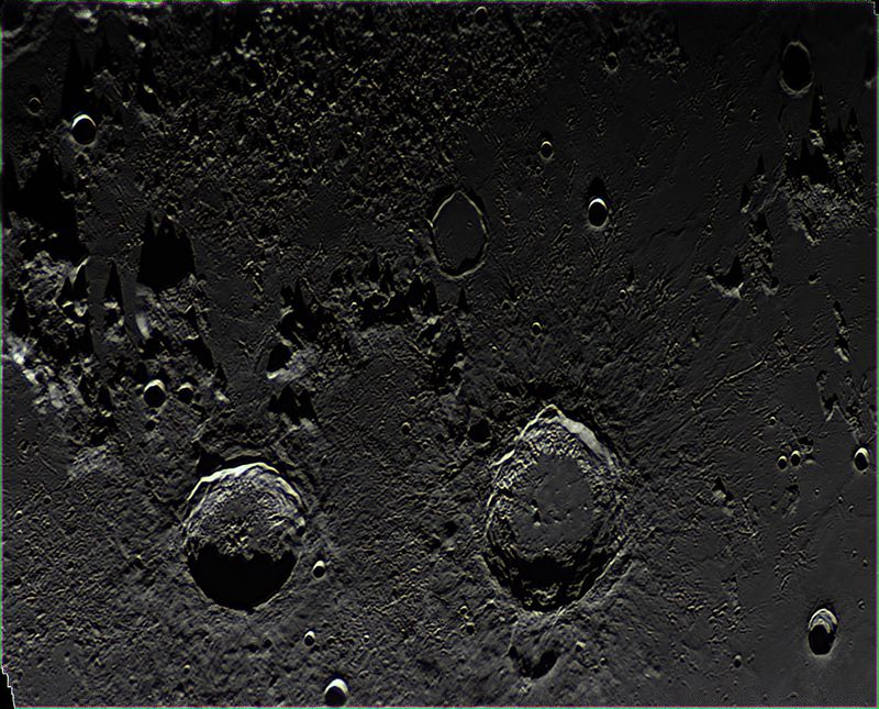 2 craters