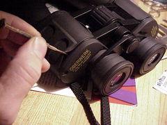 Binocular Collimation Screws