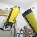 Home made big binocular 46X250