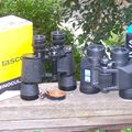 Two 7x35 Binoculars