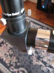 """1.25"""" eyepiece - focuser adapter for vintage refractors"""