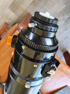 "TS Optics Photoline 130 f/7 - 3.7"" RP focuser"