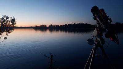 Waiting for dusk