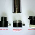"1.25"" eyepiece - focuser adapter for vintage refractors"