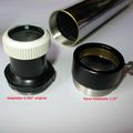 "1.25"" eyepiece - focuser adapter for vintage refractors with 0.965"" original ep"