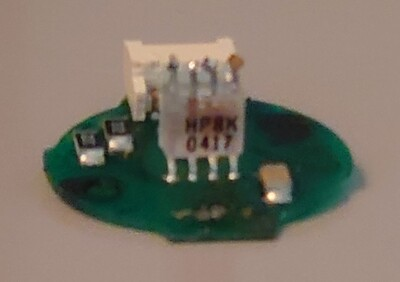 Encoder PCB Chip HP8X One Side Up