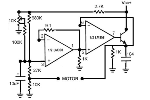 motor for barn door tracker