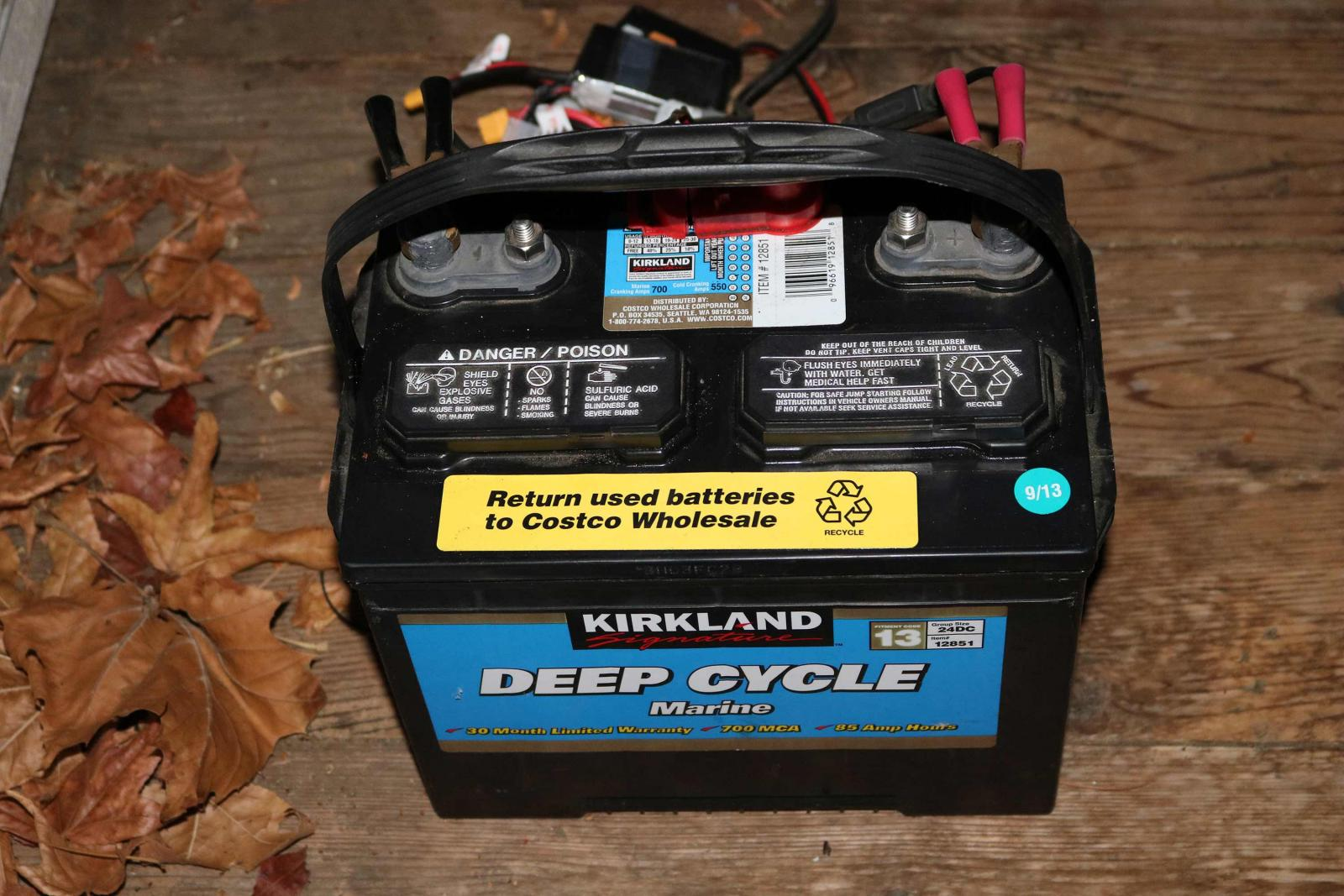 Costco Marine Battery >> Deep Cycle Marine Battery 12v Cn Classifieds Cloudy Nights
