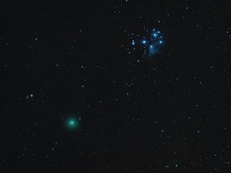 Comet Wirtanen:46P with 105mm Nikkor Lens and Nikon D5100 (Small) .jpg