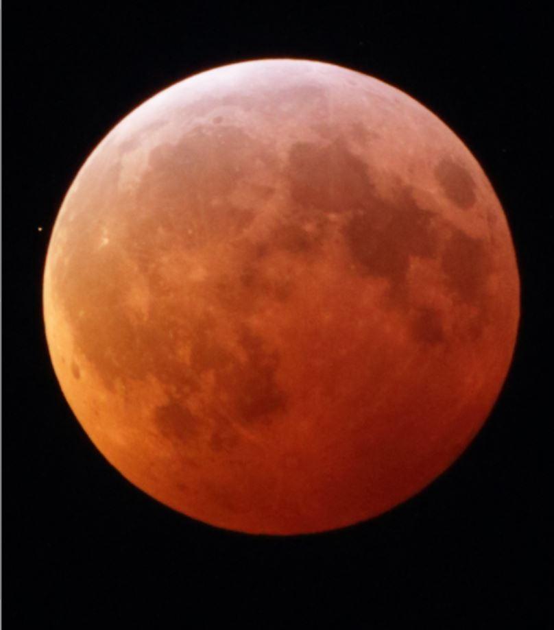 Occultation During Lunar Eclipse - Lunar Observing - Cloudy