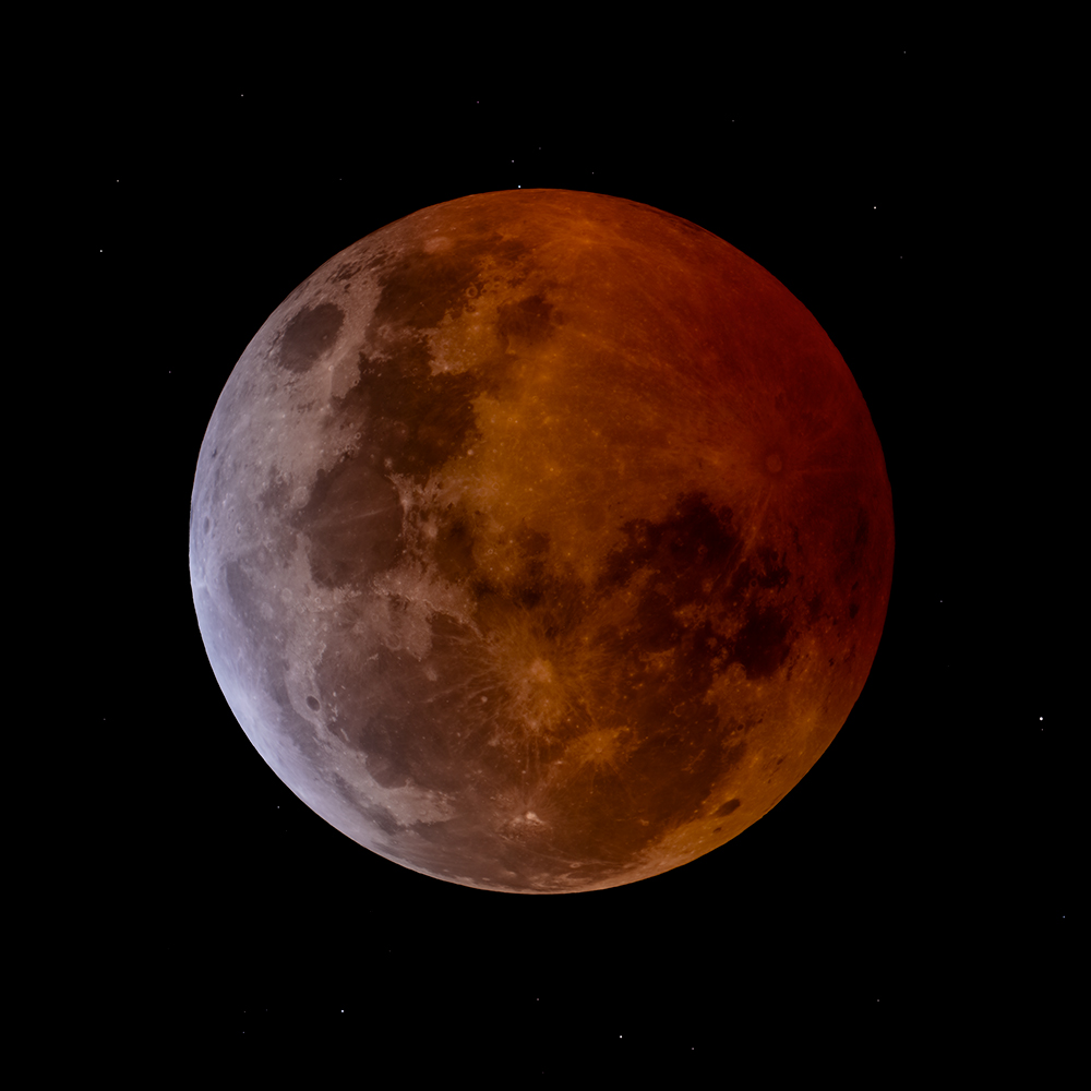 Occultation During Lunar Eclipse - Lunar Observing - Cloudy