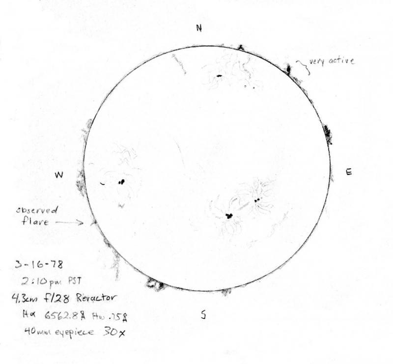 H alpha 3 16 1978 drawing adj.jpg