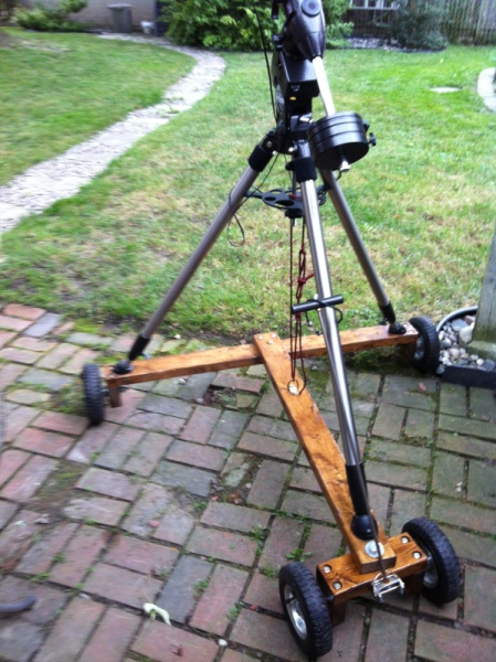 Two Wheel Dolly >> Telescope Dolly Help - Beginners Forum (No astrophotography here - please read the forum ...