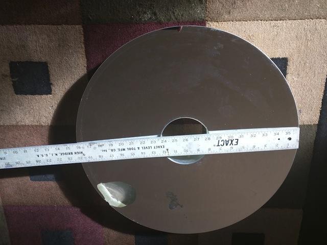 20 39 39 pyrex cassegrain telescope mirror blank cn for Miroir cassegrain