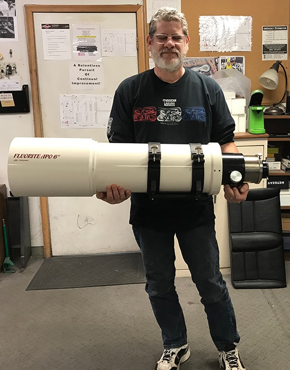 6 inch APM Lzos 150 F6 Refractor.jpg