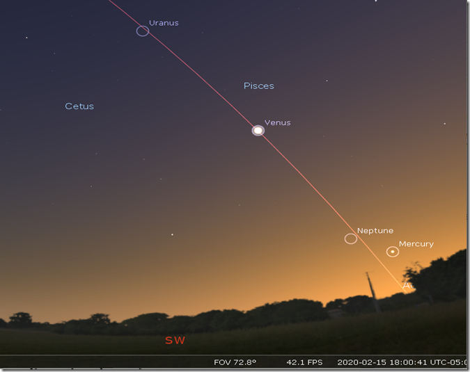 Mercury and Venus on 2-15-20  6 pm.png