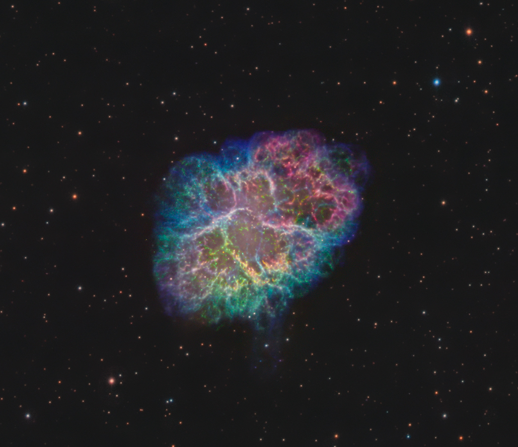 M1 The Crab Nebula with some Tesla thrown in - Experienced