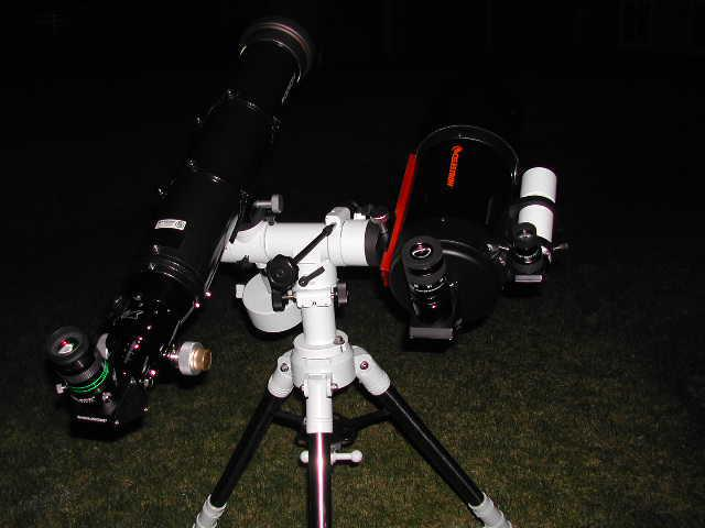 Canadian Telescopes Duo T Mount First Light