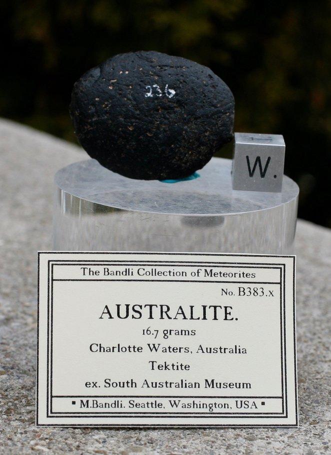 Tektite from South Australian Museum & Meteorite - CN Classifieds