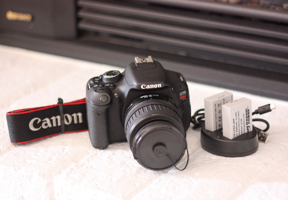 Canon T3i + 18-55mm Lens (Astro-Modified, 12K Shutter) FREE