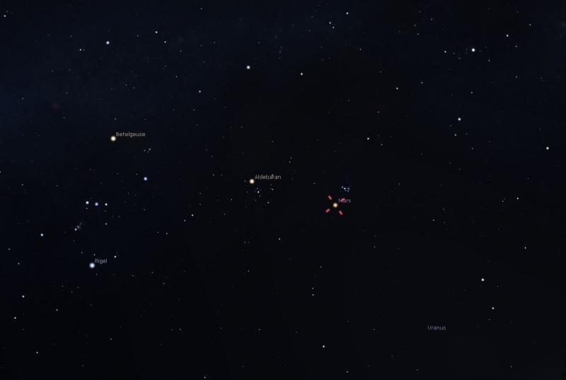 Mars and M45 Stellarium 3-3-21 CN.JPG