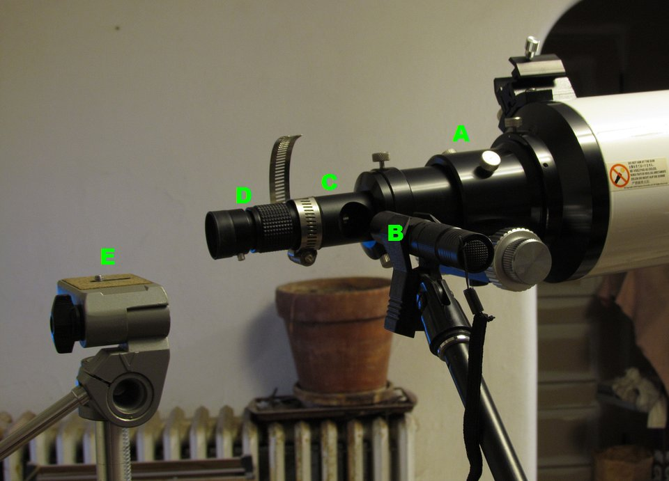 Triplet refractor collimation and lens centering atm optics and