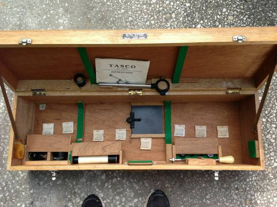Wood Case Interior Open Lids with White Plastic Control Rods.jpg