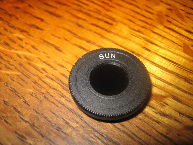 use of vintage eyepiece sun filters. - classic telescopes - cloudy ...
