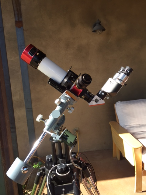 Binoviewer and Lunt LS50.JPG