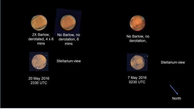 Mars approach 7 and 20 May 2016.jpg