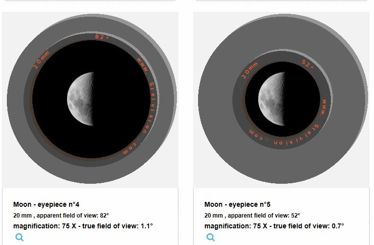 Larger Object in Eyepiece - Beginners Forum (No astrophotography