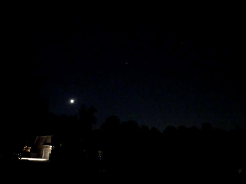 5-6-21 513 AM EDT Moon-Jupiter-Saturn with Gamma and Delta Capricorni IMG-5253 5400.JPG