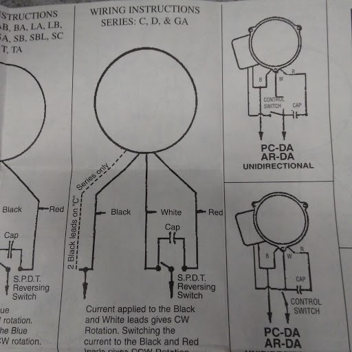 Hurst Ca Synchronous Motor Wiring Question