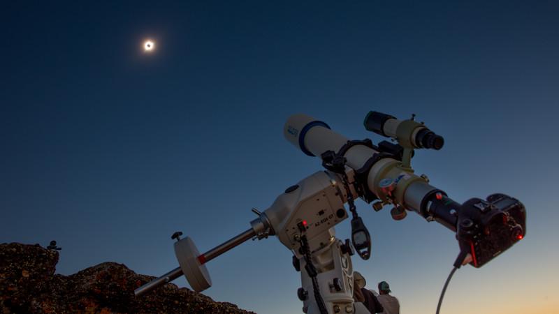 Telescope and Sun South Menan Butte Eclipse-6871-L.jpg