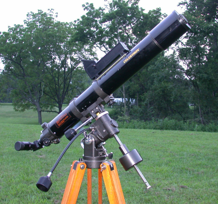 Celestron C80 on Vixen Polaris Mount.jpg