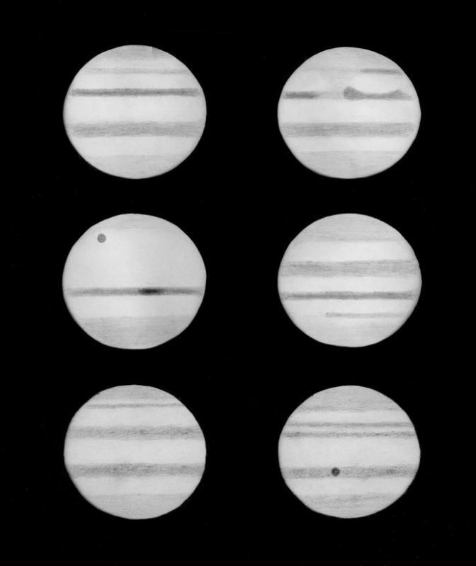 Hevelius telescope Alan Replica Jupiter drawings.jpg