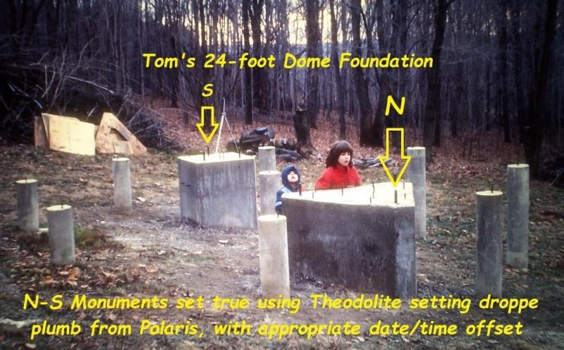 76 24-ft dome foundation N-S monuments theodolite.jpg