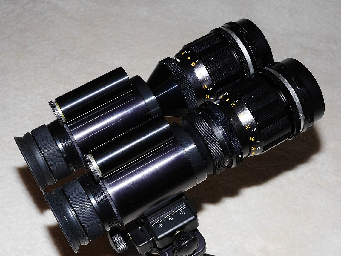 Night Vision Binoculars (DIY - sort of) - EAA Observation and ...