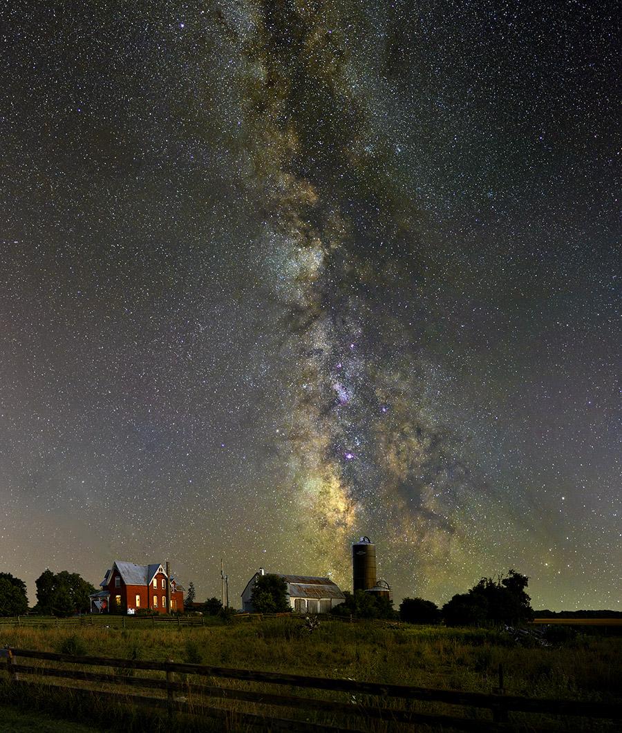 Milky Way over North Gower, Ontario - DSLR & Digital ...