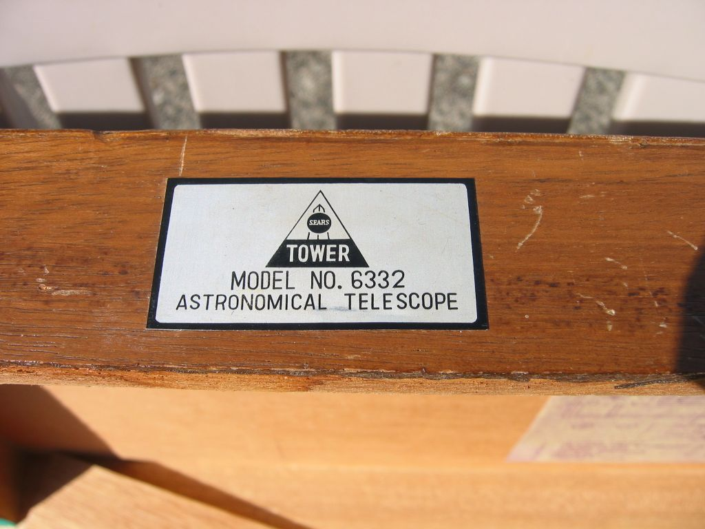Tower Model 6332 Classic Telescopes Cloudy Nights # Model Table Tele