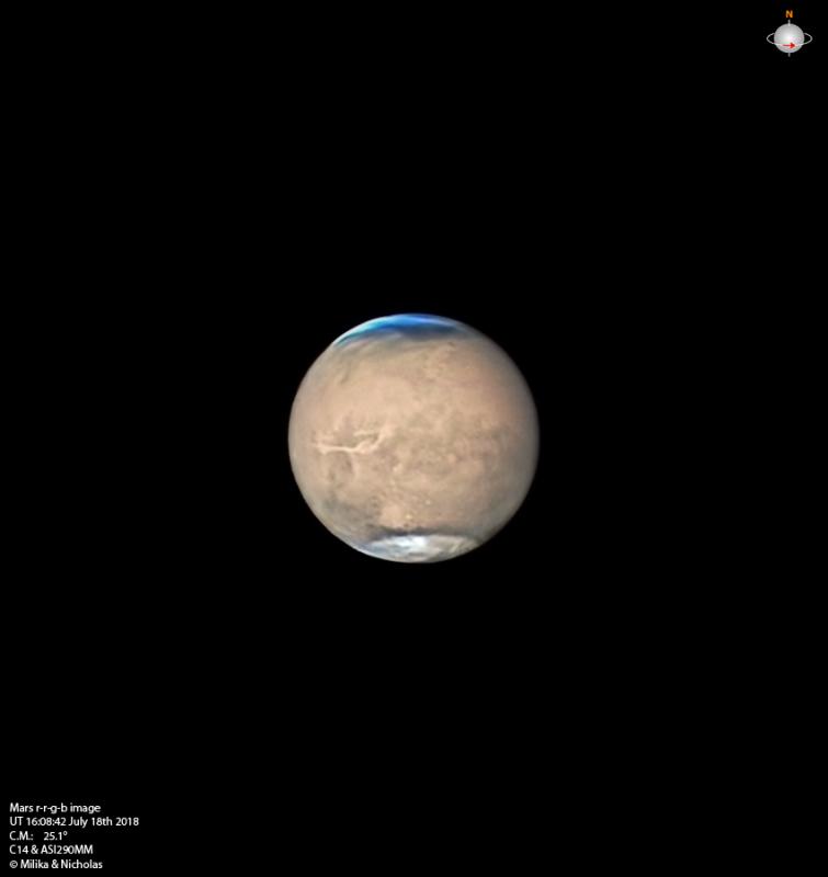 Amateur Image of Mars