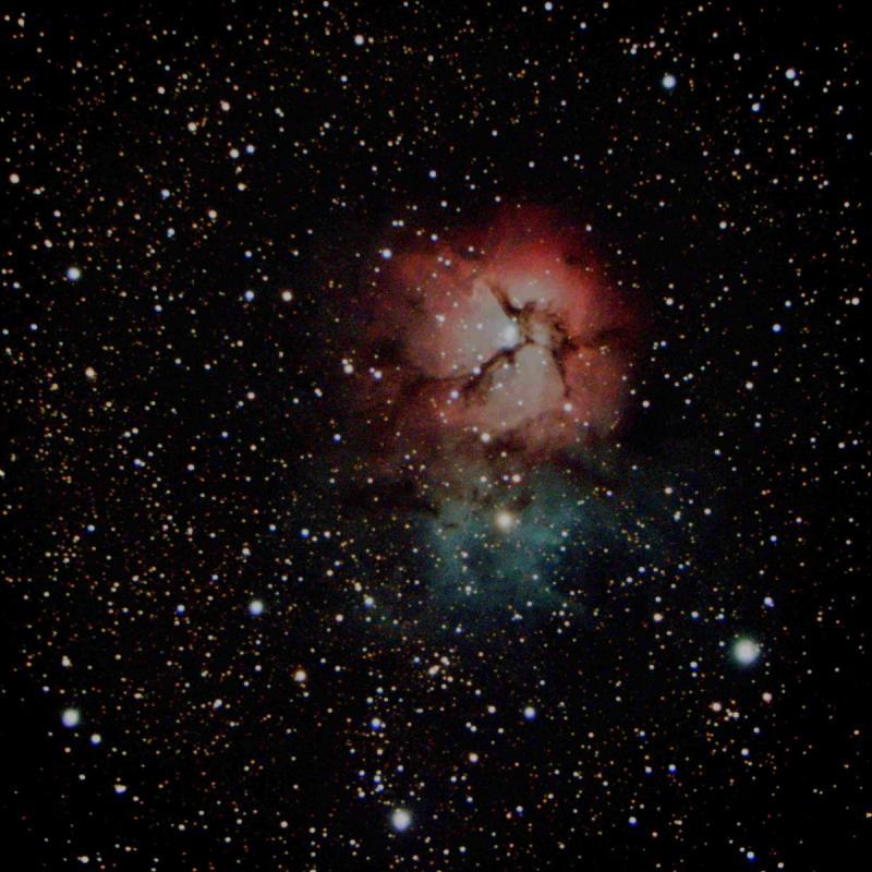 M 20 - trifid Nebula_ZWO ASI533MC Pro_3008x3008_10 x 30,0s = 300s_18-7-2021T00_50_42.jpg