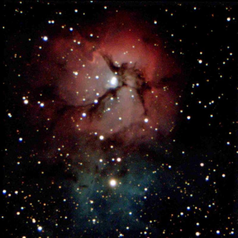 M 20 - trifid Nebula_ZWO ASI533MC Pro_1504x1504_20 x 30,0s = 600s_18-7-2021T00_57_48.jpg
